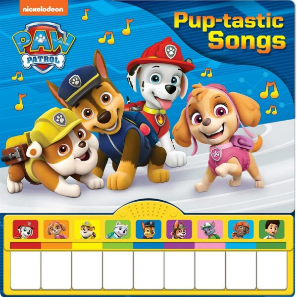 Piano Book Mini Deluxe Paw Patrol Puptastic Songs