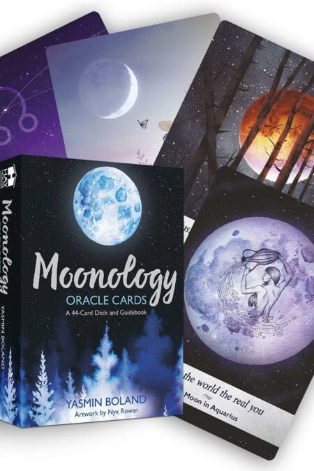 Moonology (TM) Oracle Cards : A 44-Card Deck and Guidebook