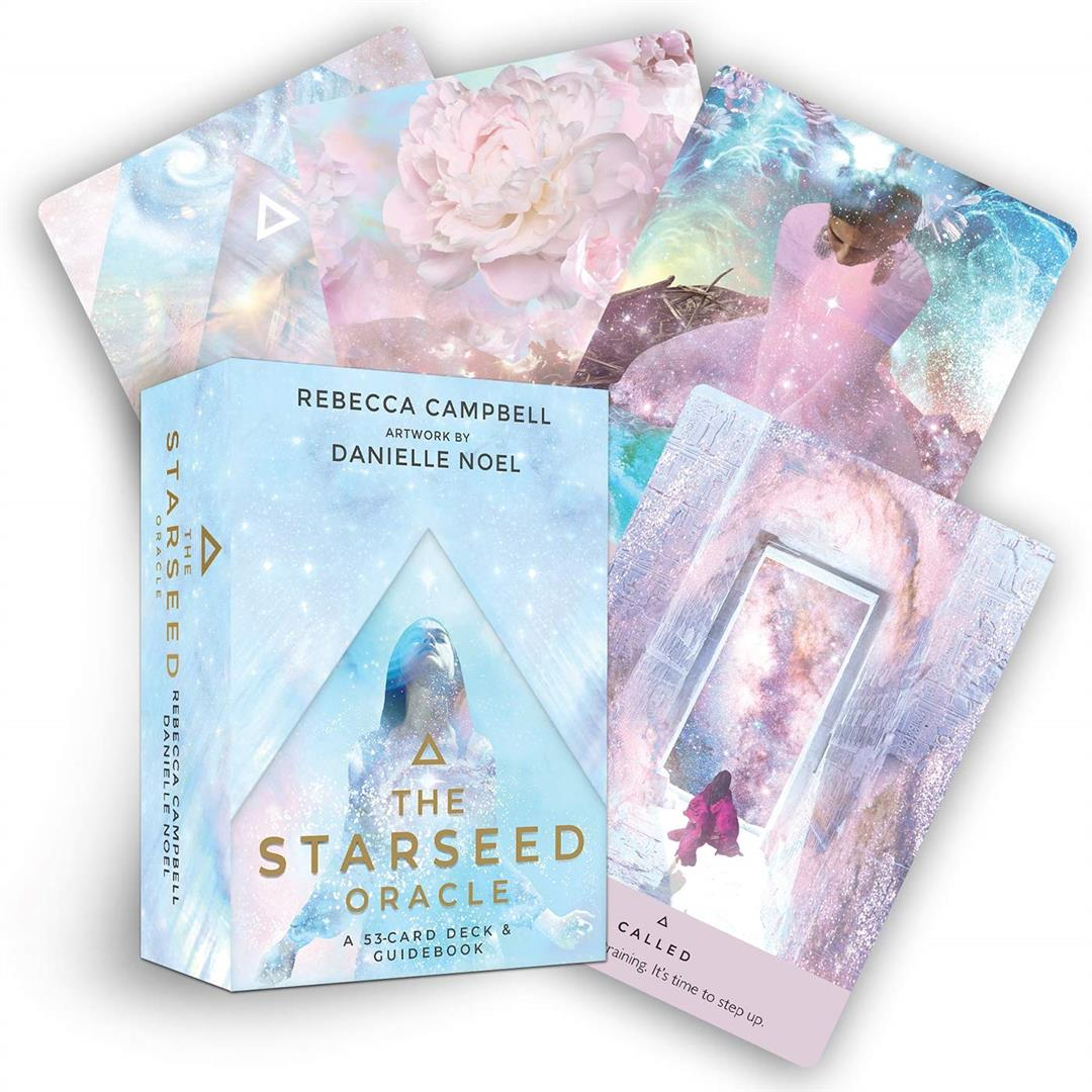 Starseed Oracle : A 53-Card Deck and Guidebook