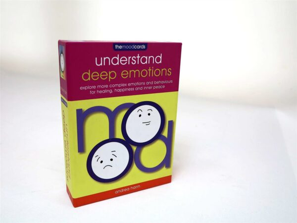 Mood Cards Understand Deep Emotions : Explore More Complex Emotions and Behaviours for Healing, Happiness and Inner Peace