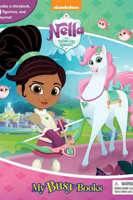 Nickelodeon Nella the Princess Knight My Busy Book
