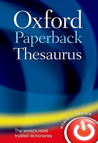 Oxford English Thesaurus