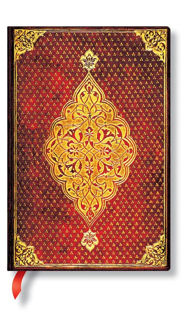 Mini Golden Trefoil lined Notebook