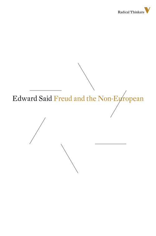 Freud and the Non-European