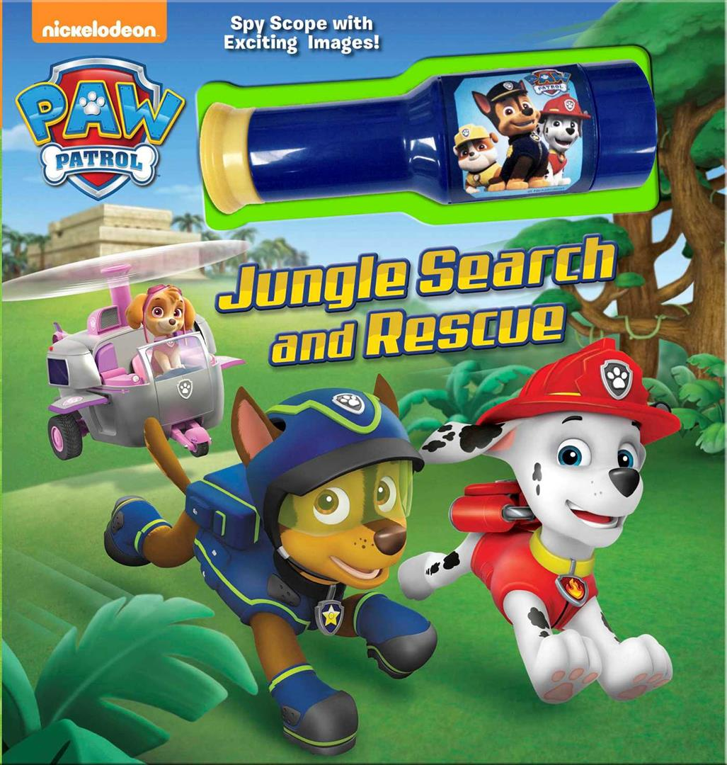Nickelodeon Paw Patrol Jungle