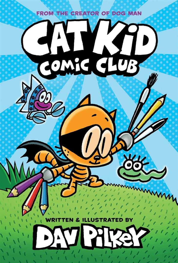 Cat Kid Comic Club Graphic Nov