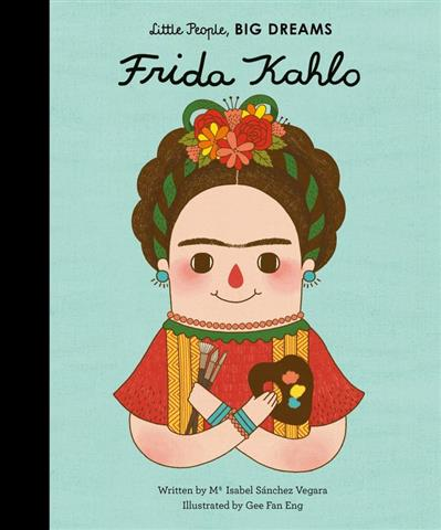 Frida Kahlo Doll and Book Set: