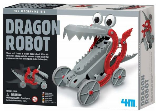 Dragon Robot Ages 5+