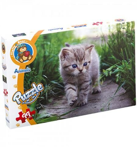 A Cat On The Side Walk Puzzle